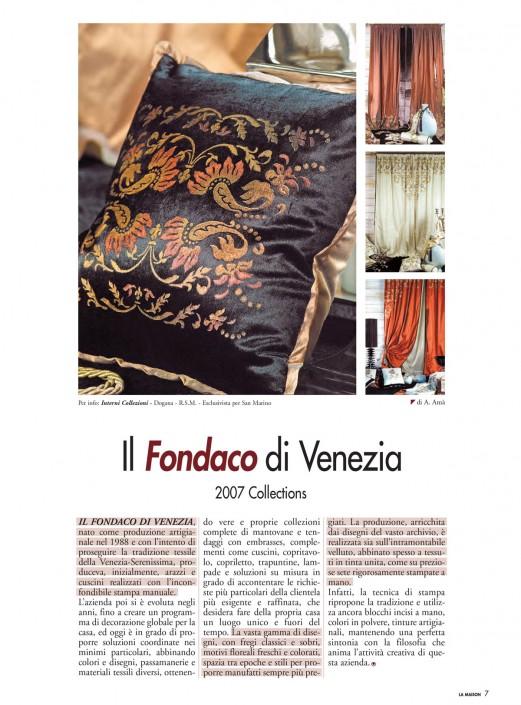 Il Fondaco di Venezia
