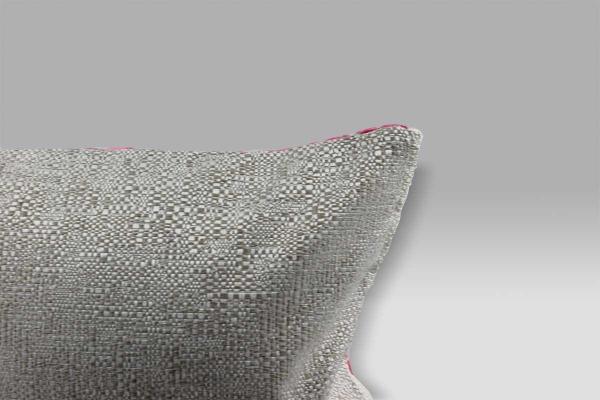 Cuscino 30x40 Dufrene Fuchsia velluto operato fucsia Designers Guild