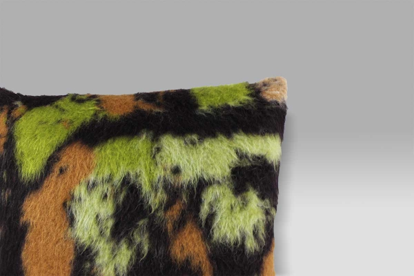 Cuscino 50x50 lana cotta e seta Bagnaresi Casa