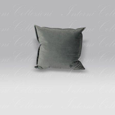Cuscino Essential Velluto grigio Mastro Raphael