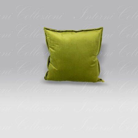 Cuscino Essential Velluto verde Mastro Raphael