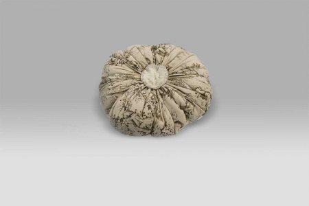 Cuscino Zucca Etoile de Joui bianco Opificio dei Sogni