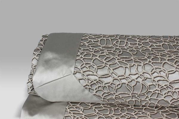 Copriletto Dublino tessuto operato disegno geometrico var-neutro Agostini