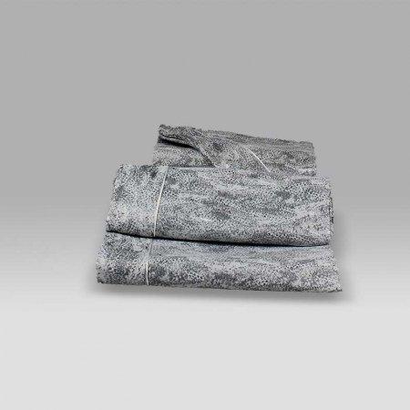 Copriletto Zanzibar animalier grigio Agostini