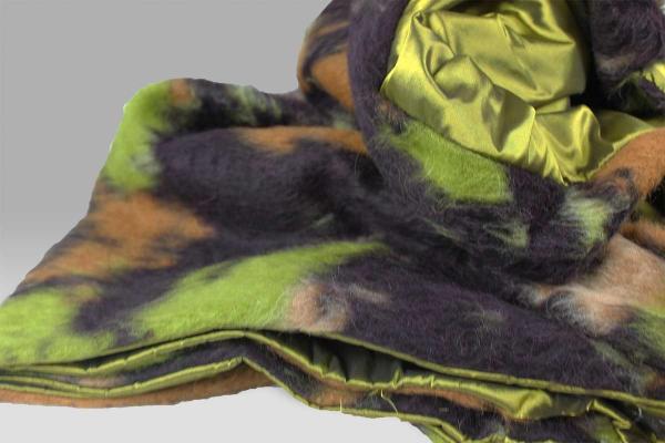 Plaid 120x200 lana cotta e seta Bagnaresi Casa