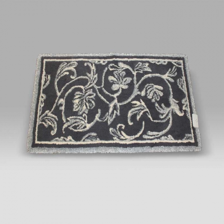 Tappeto Dynasty grigio lurex Habidecor