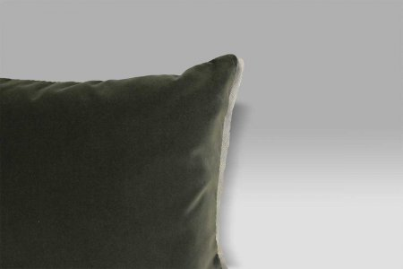 Cuscino Varese 43x43 Silver grigio Designers Guild