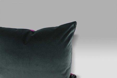 Cuscino 60x45 Cassia Damson viola-grigio Designers Guild
