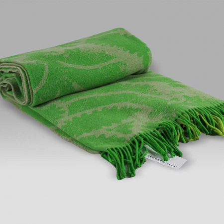 Plaid Majella Lime Designers Guild