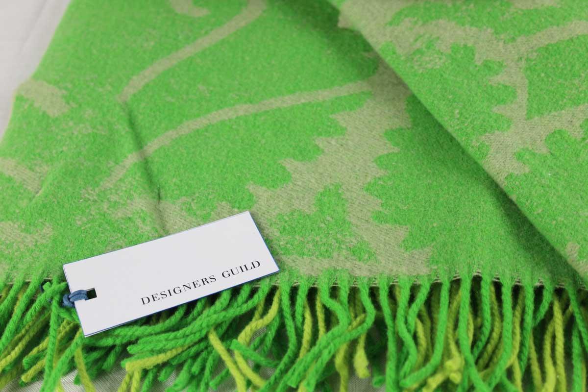 Plaid Majella Lime Designers Guild