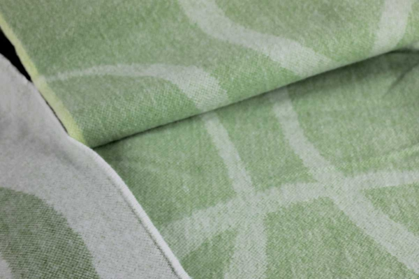 Plaid Marquisette Leaf Designers Guild