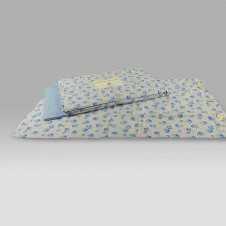 Completo Lanzuola Carin azzurro Martha O-Neil by Tag House