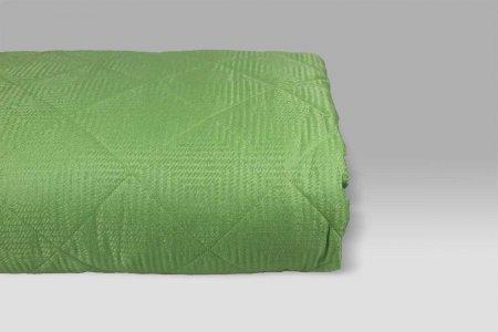 Quilt Belleville misto seta verde Micol