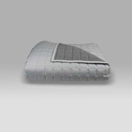 Quilt Double 7511 v009 grigio chiaro-scuro Bossi Casa