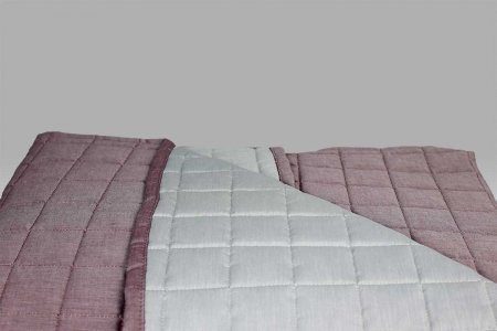 Quilt Double 7511 v01 rosato-grigio Bossi Casa