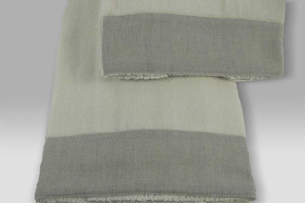 Coppia Spugna Key Style avorio grigio Mastro Raphael