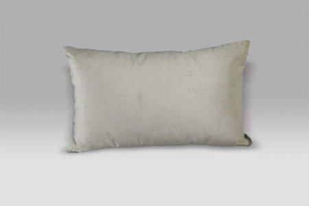 Cuscino Bagnaresi Casa 25x40 velluto Velvet striato avorio swarovski e perle