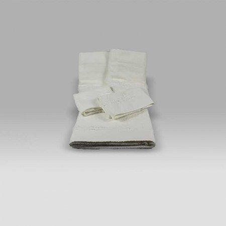 Set spugna 5 pezzi Bohemien bianco vintage Opificio dei Sogni