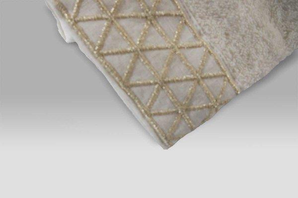 Set Lavette 2 pezzi Xmastime Triangoli avorio Mastro Raphael