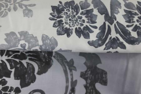Parure Copripiumino Kashgar Graphite Designers Guild