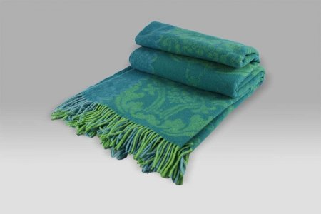 Plaid Damask Green Designers Guild