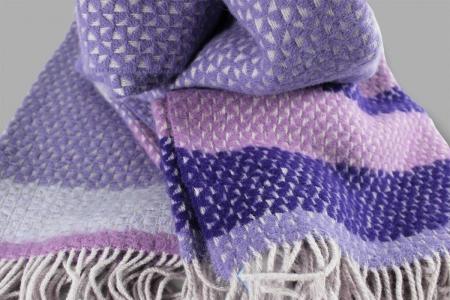 Plaid Fort Rose Violet Designers Guild