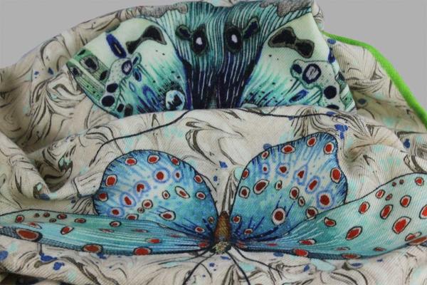 Plaid Issoria Jade Designers Guild