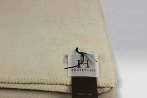 Plaid Soft Cotton Pile beige Frati Home
