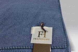 Plaid Soft Cotton Pile blu Frati Home