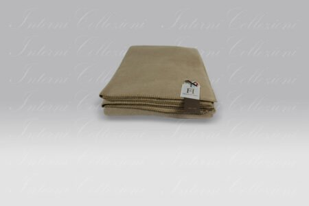 Plaid Soft Cotton Pile tortora Frati Home