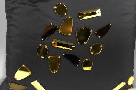 Cuscino Specchi Gold 40x40 Bagnaresi Casa