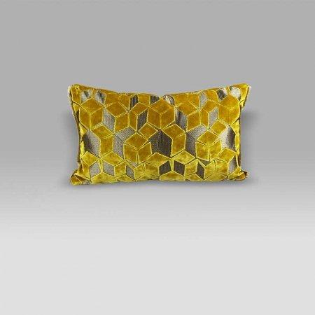 Cuscino 50x30 Fitzrovia Ochre giallo ocra Designers Guild