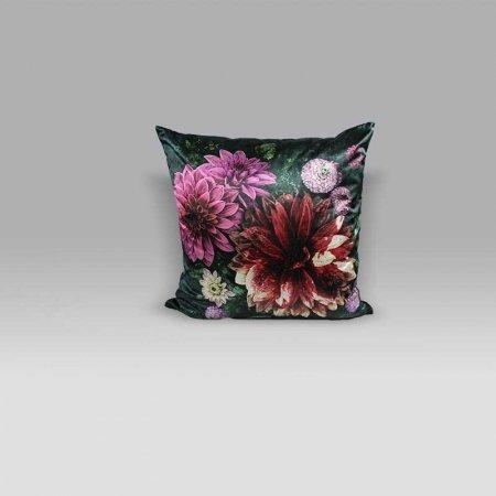 Cuscino 50x50 Dahlia Noir Fuchsia Designers Guild