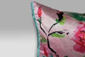 Cuscino 60x60 Chinese Peony Fuchsia Designers Guild