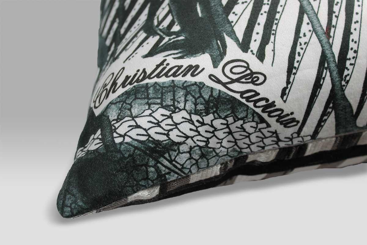 Cuscino 60x60 Jardin Exo-chic Caviar Christian Lacroix