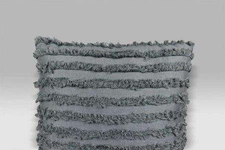 Cuscino Bohemien blu colomba Opificio dei Sogni