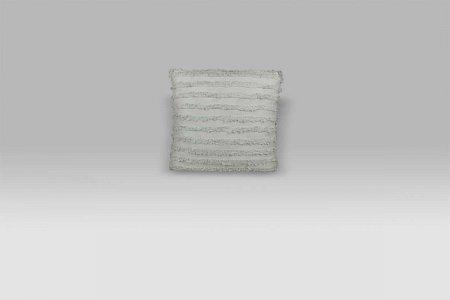 Cuscino Bohemien grigio perla Opificio dei Sogni