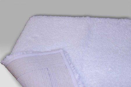 Tappeto Elysee bianco lurex Habidecor