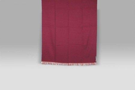 Plaid Doblone viola rosso Cecchi e Cecchi