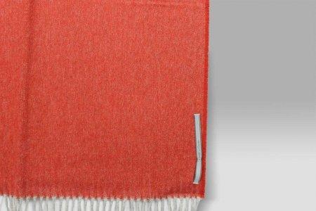 Plaid Grant rosso melange grigio Cecchi e Cecchi