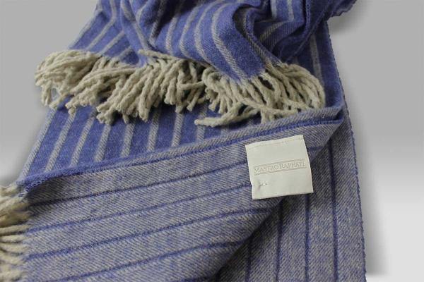 Plaid Pleasures Cotone Gessato blu Mastro RaphaelPlaid Pleasures Cotone Gessato blu Mastro Raphael