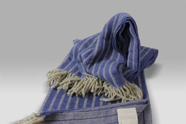 Plaid Pleasures Cotone Gessato blu Mastro Raphael