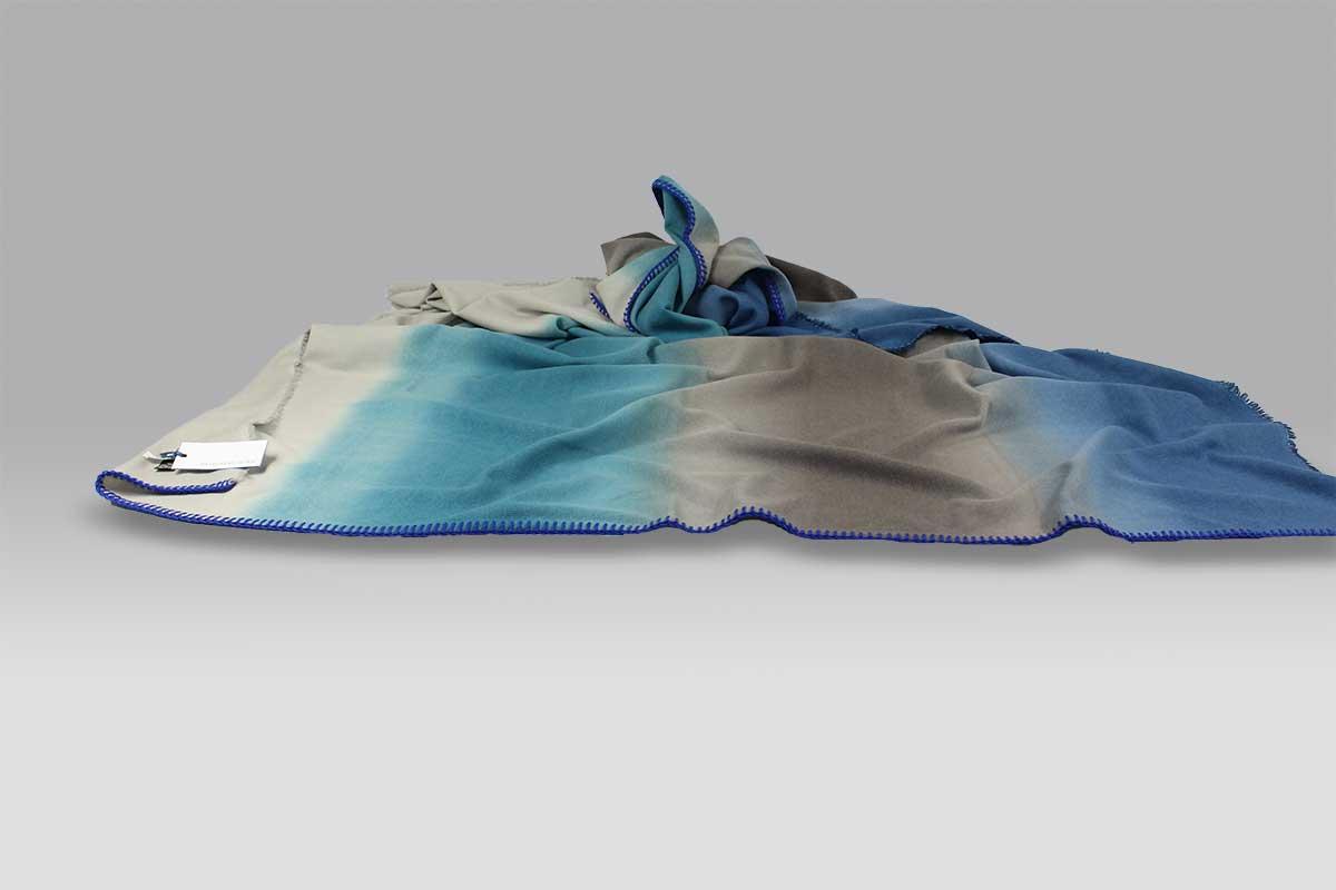 Plaid Severini Cobalt Blanke Designers Guild