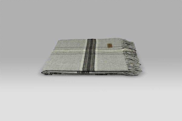 Plaid Stirling grigio Bellora