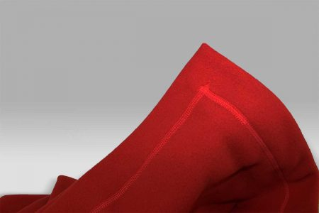 Plaid Tre Aghi Pile rosso Selana
