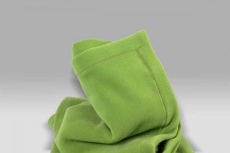 Plaid Tre Aghi Pile verde acido Selana
