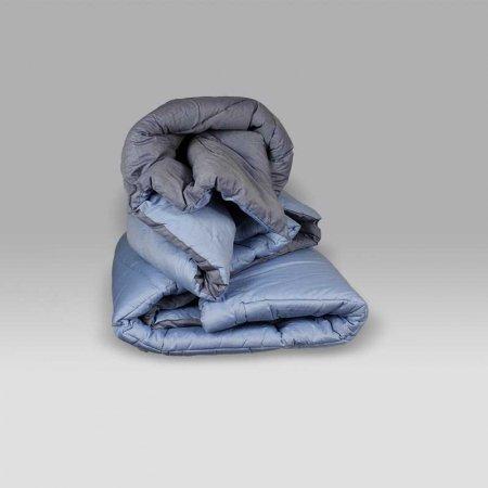 Trapunta Double V.21 azzurro jeans Bossi