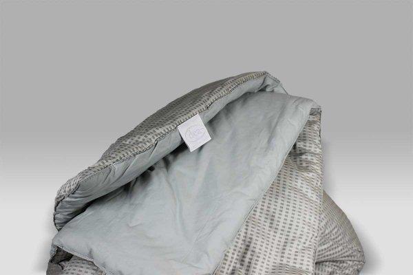 Trapunta Pierangela fantasia geometrica grigio Dea