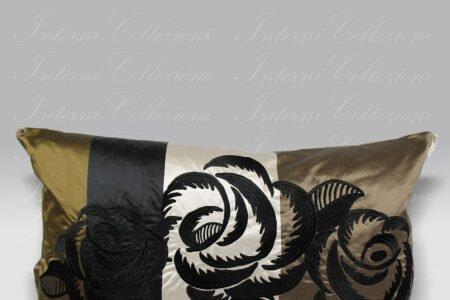 Cuscino Kasuti Taupe Designers Guild
