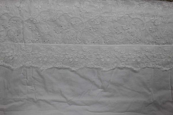 Quilt Poetics fascia centrale verticale pizzo Mastro Raphael